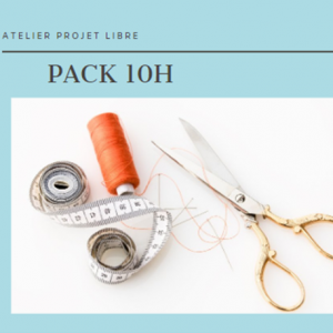 Pack 10 Heures Projet Libre
