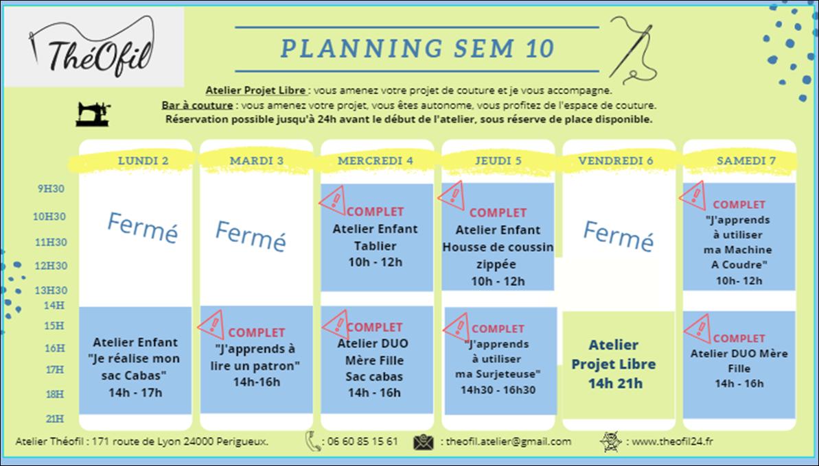 SEMAINE 10