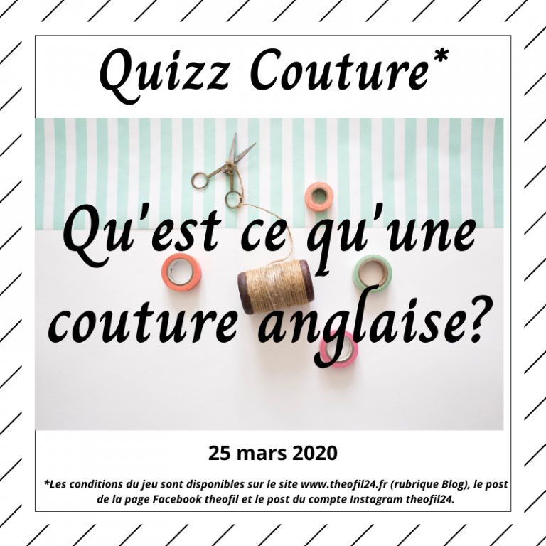 Read more about the article Quizz Couture