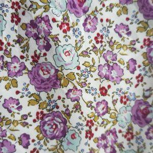 Popeline coton fleurie (POCO100lib9)