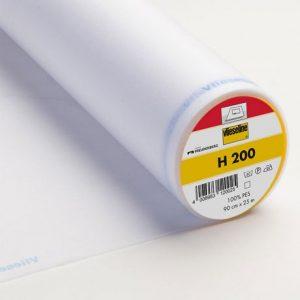 Entoilage blanc H200