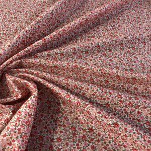 Popeline coton fleurie (POCO100lib4)