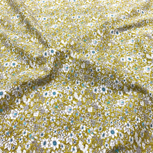 Popeline coton fleurie (POCO100lib37)