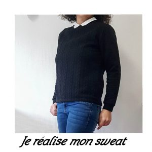 Je réalise un sweat
