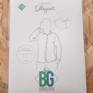Patron Chemise l'Elegant – Les BG