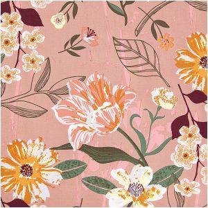 Toile fleurie – Rico Design