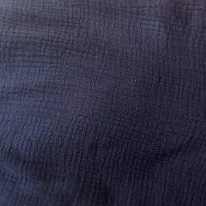 Double gaze bleu marine oeko tex