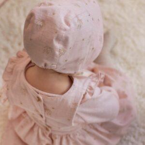 coton rose poudré ballerine _ KATIA